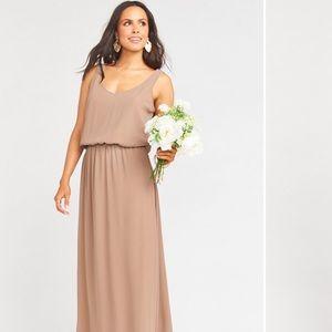 Show Me Your Mumu Bridesmaid Dress - Kendall/Dune